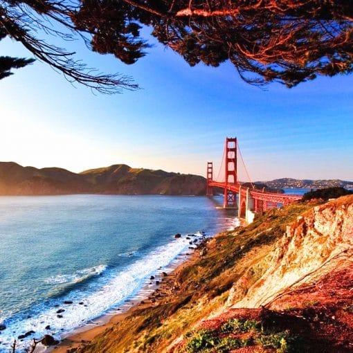Autocamper USA - Oplev Golden Gate Bridge