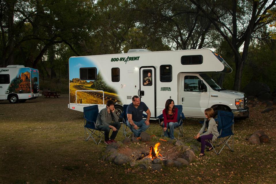 Campering i nationalpark