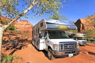 USA - Utah - Blanding - Camping - Cruise America1