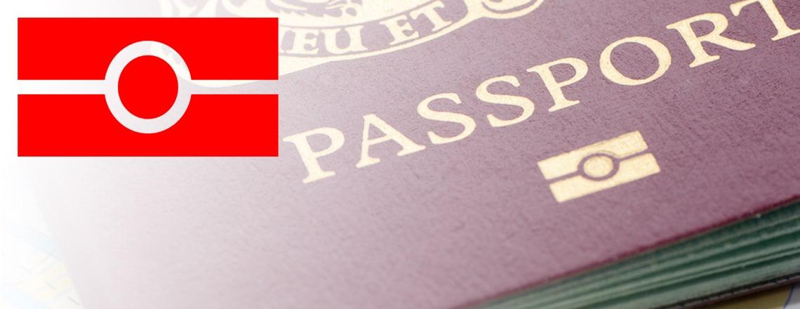 ESTA gives kun, hvis dit pas er et e-pas. E-pas har dette symbol på forsiden.