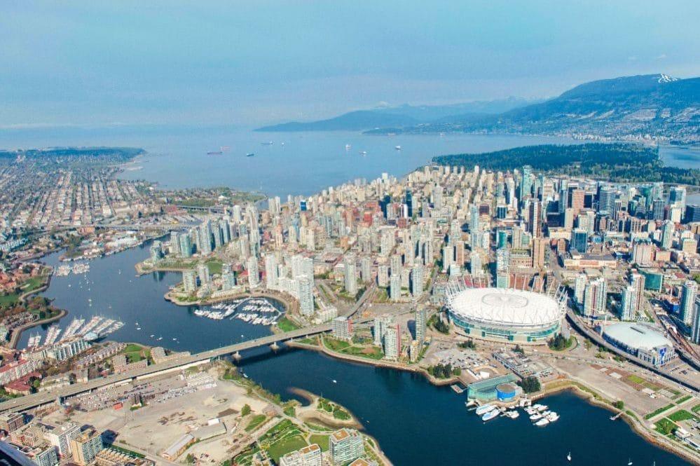 Udsigt over Vancouver