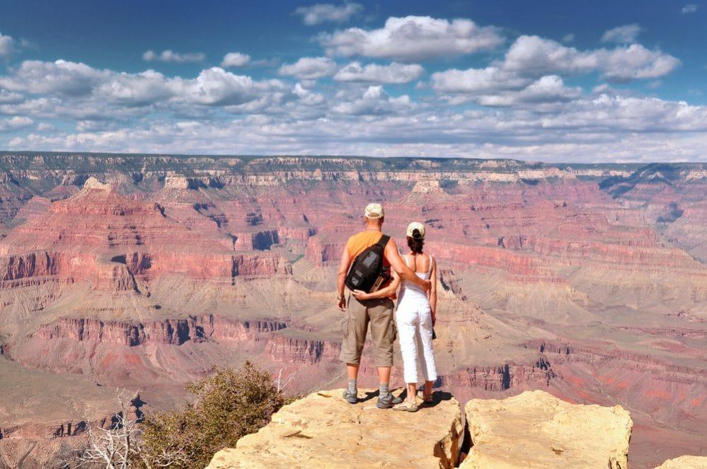 Grand Canyon er en stor oplevelse på en tur i autocamper