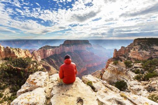Grand Canyon er en af de smukkes nationalparker i USA - og den egner sig perfekt til en tur i autocamper.