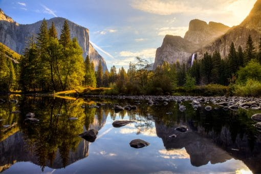 Med autocamper til Yosemite