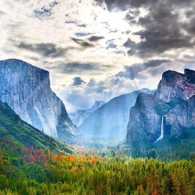Yosemite Nationalpark er en af USAs mest berømte parker og byder på smuk natur, god camping og masser af vandfald og vandrestier.