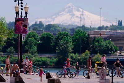 """Oregons hovedstad, Portland, som er udnævnt """"USA bedste, største by""""."""
