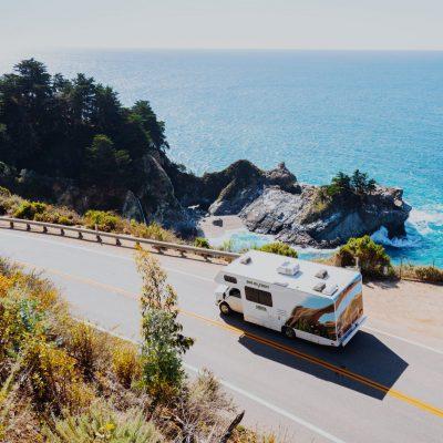 Autocamper USA ad Highway 1