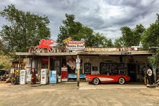Nostalgi på Route 66