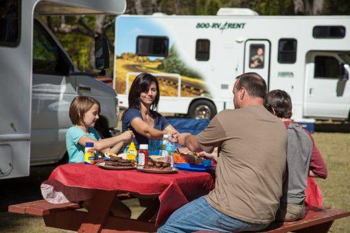 Familiehygge på ferie i autocamper