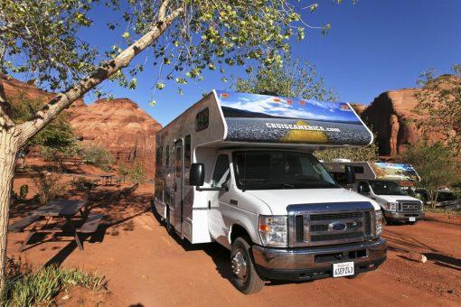 Du kan besøge det sydvestlige USA på din tur i autocamper i USA