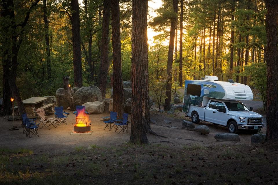 Gratis camping i USA