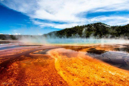 Yellowstone National Park er et af de helt store højdepunkter på denne rejse iautocamper gennem det nordvestlige USA.