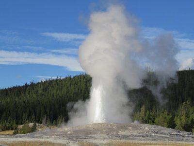 Yellowstone er rig på vulkansk aktivitet.