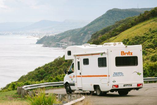 Britz Explorer autocamper New Zealand
