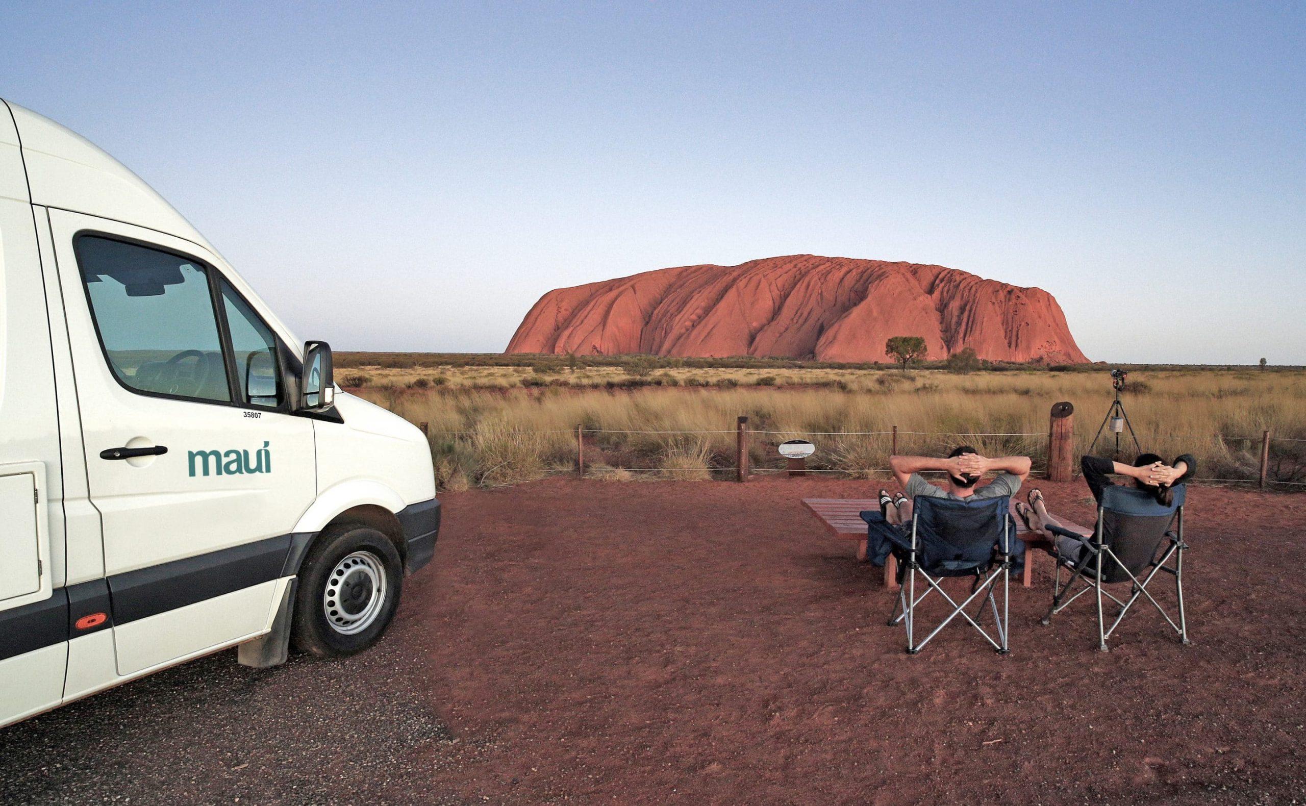 australien i autocamper