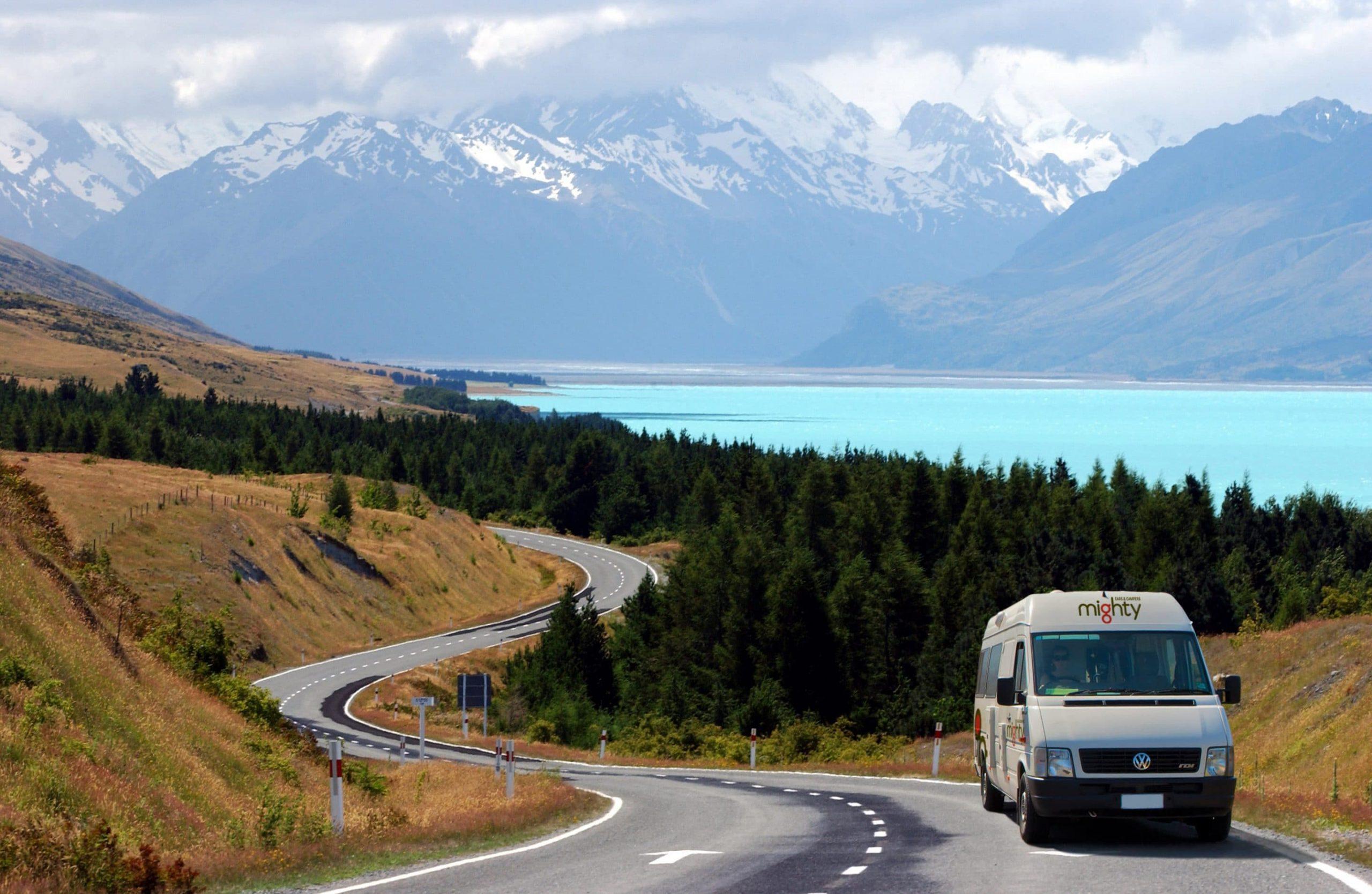 Autocamper New Zealand - Læs alt her og bestil leje til spotpris