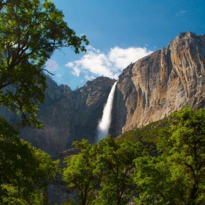 Yosemite i det sydvestlige USA