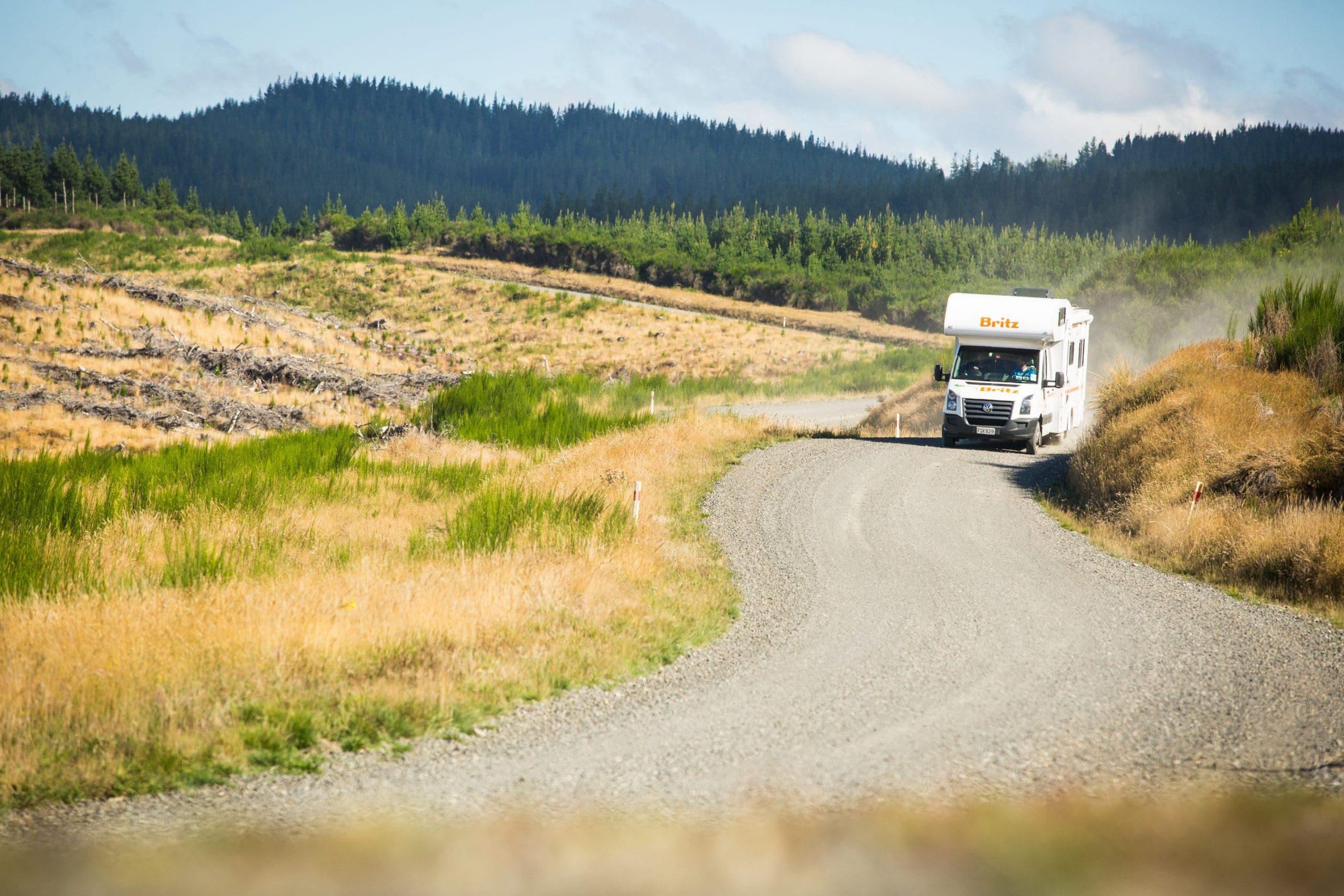 Autocamper leje i New Zealand