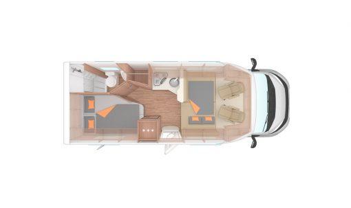 Family Traveller Plus indretning - en vogn fra Apollo Europe (5)