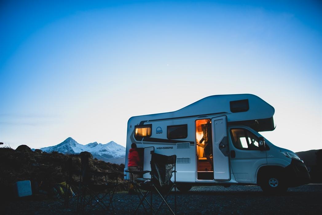 Lej en Bunk Camper i Skotland