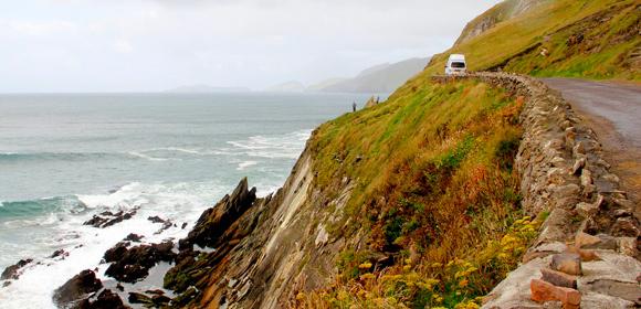 Autocamper Irland - Råt og flot