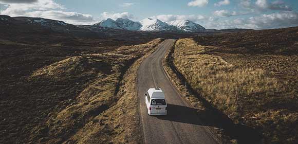 Autocamper i Skotland