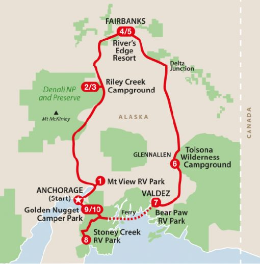 Alaska autocamper