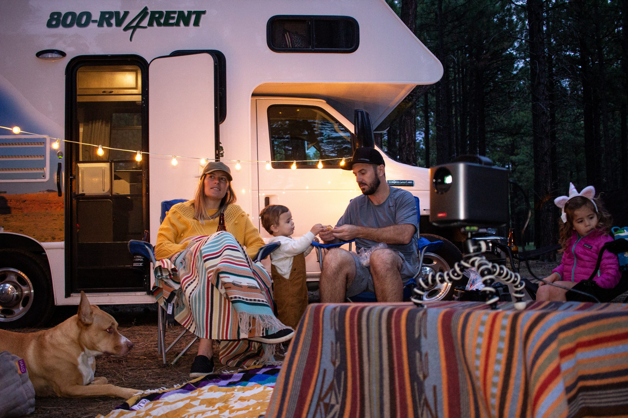 Cruise America camping