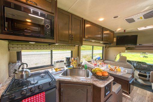 Road Bear C25-27 køkken