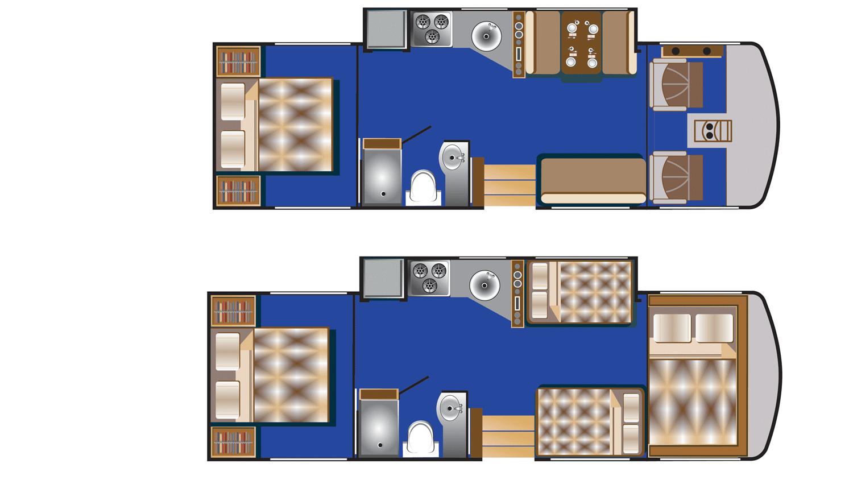 Road Bear A30-32 indretning