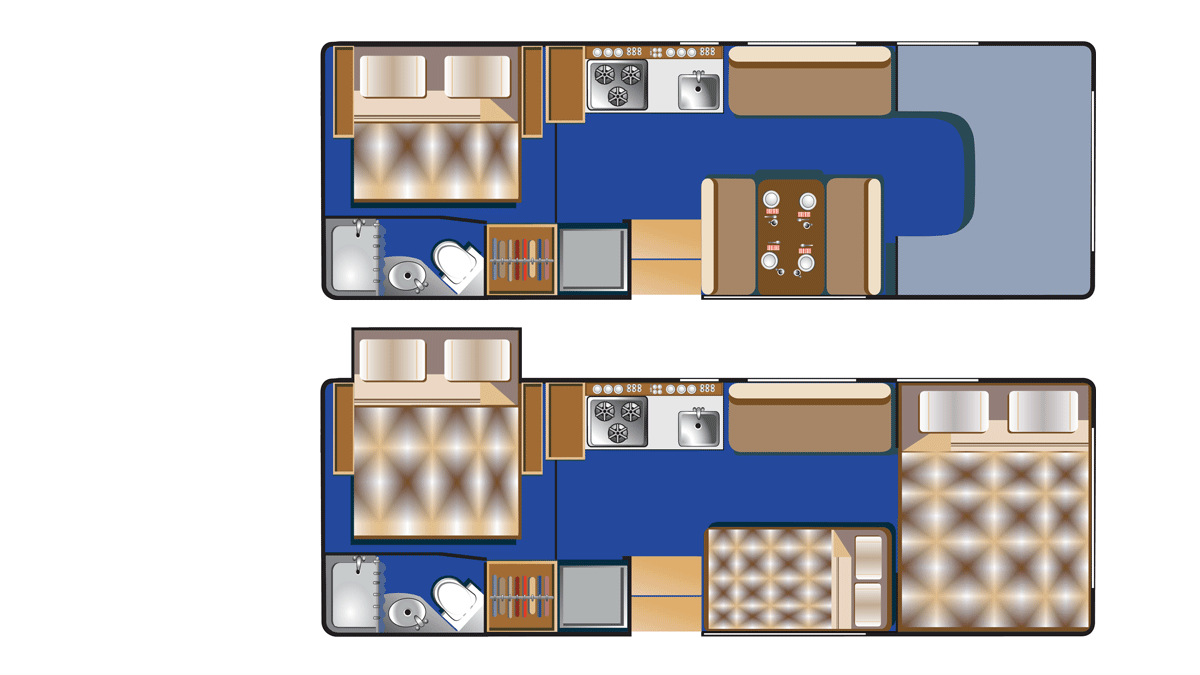 Road Bear C25-27 indretning