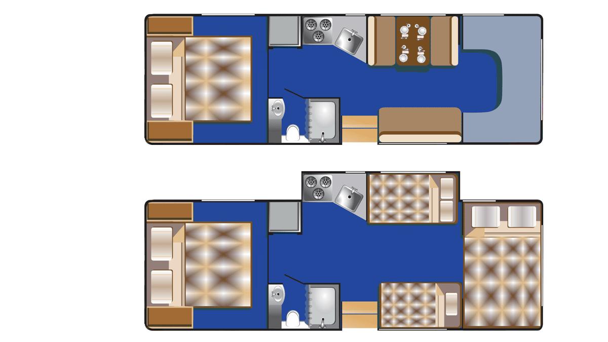 Road Bear C28-30 indretning