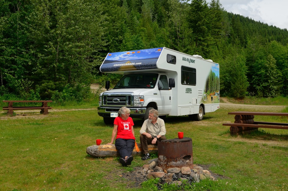 Cruise Canada camping