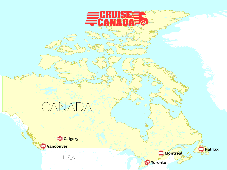 Cruise Canada stationer