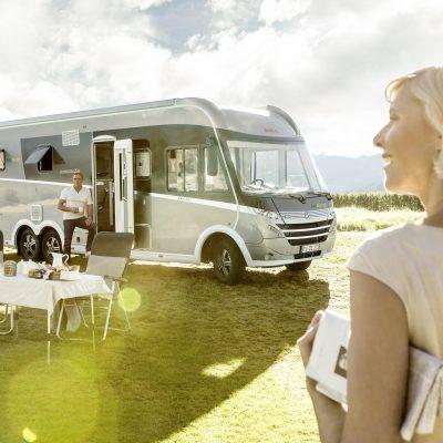 Premium Luxury autocamper til leje