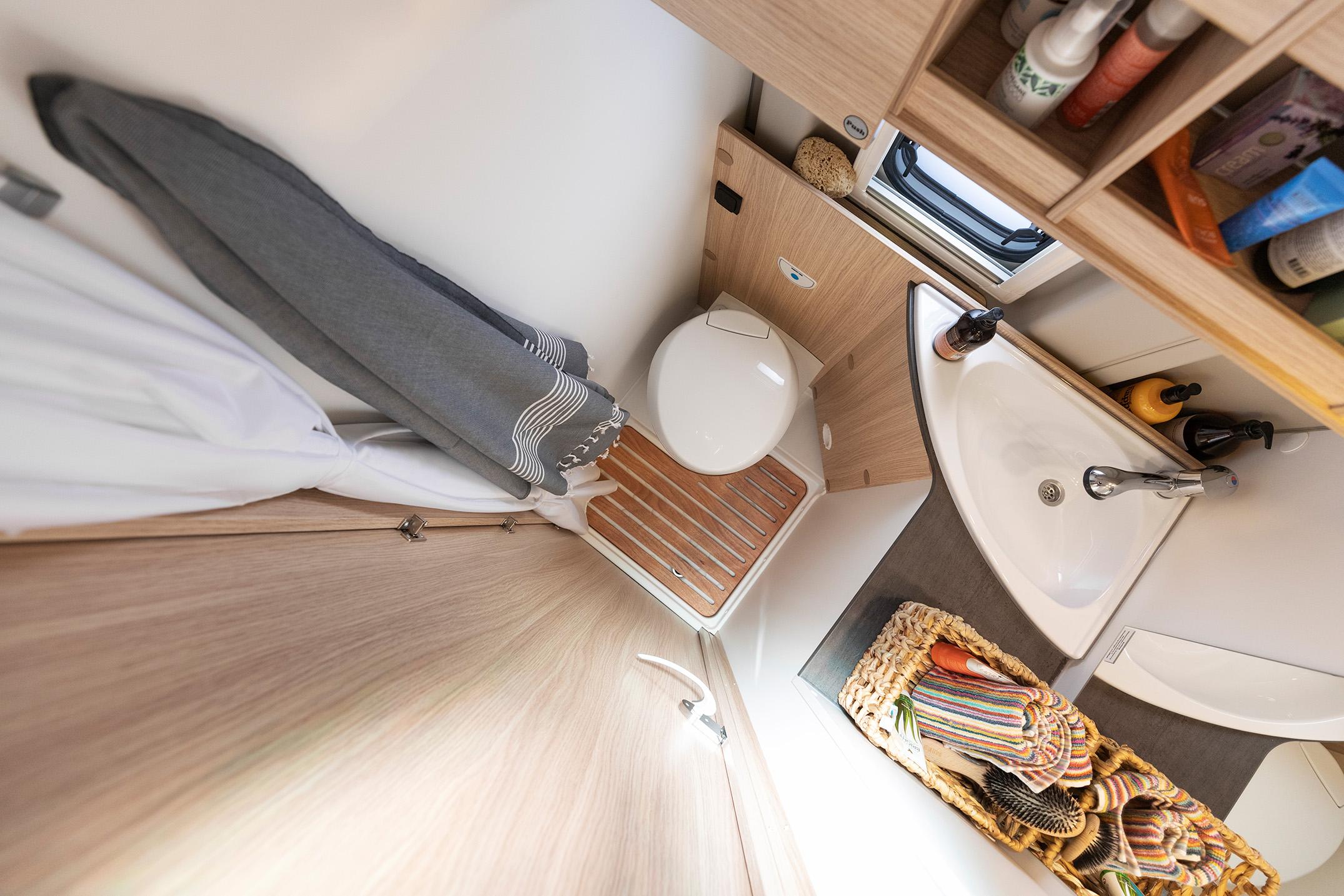 Toilet og bad i Urban Luxury