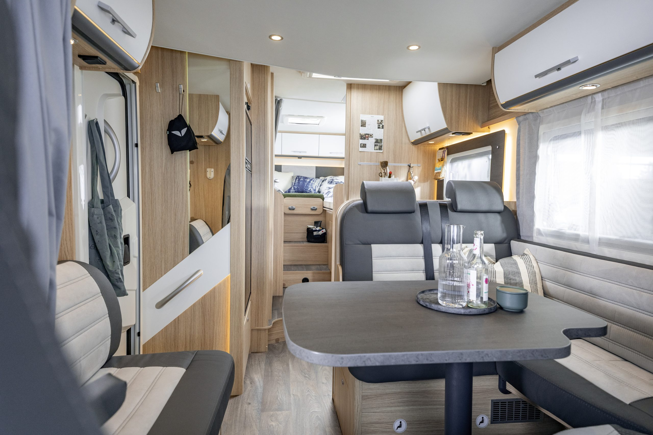 family Luxury bagerst i vognen