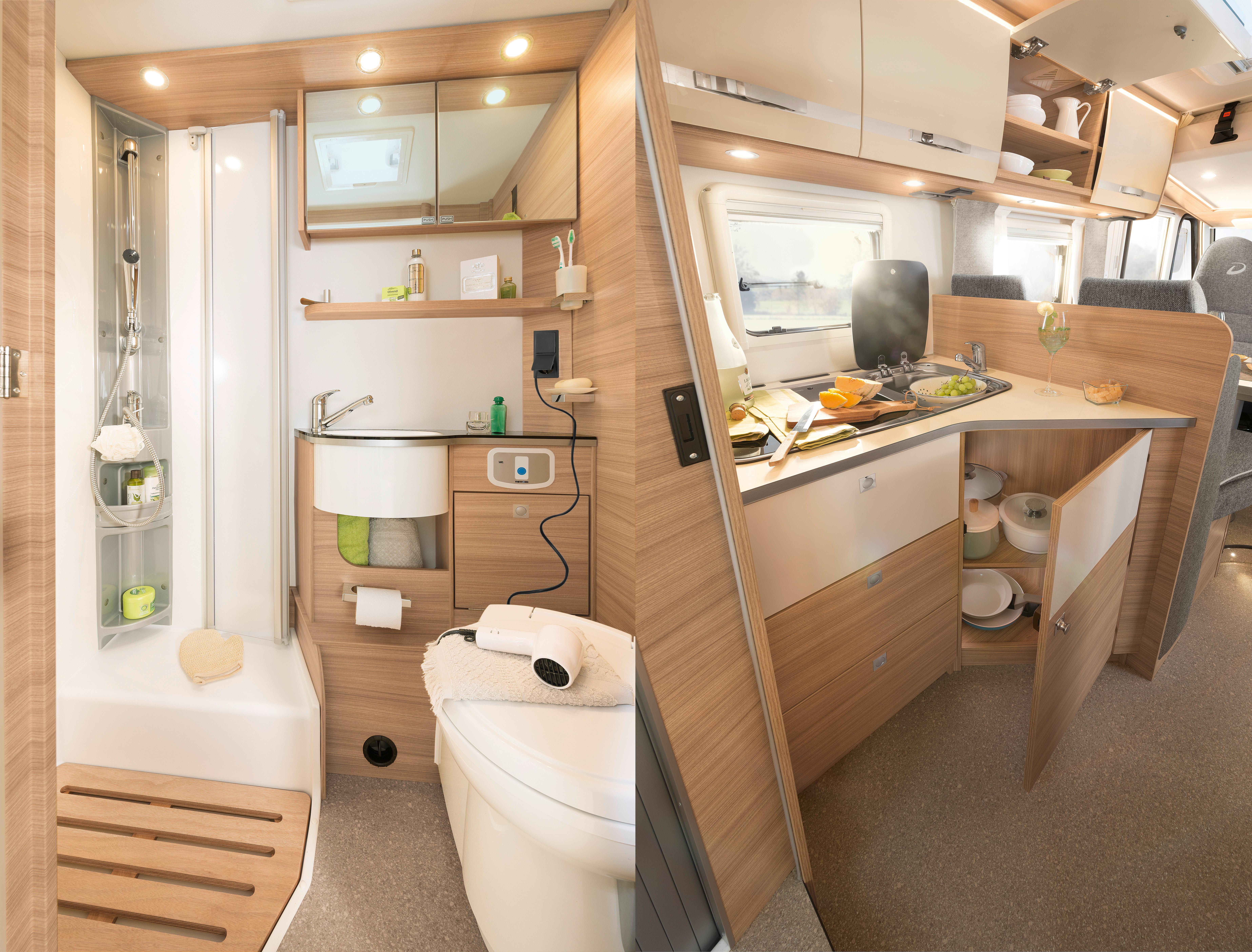 Compact Luxury bad og køkken