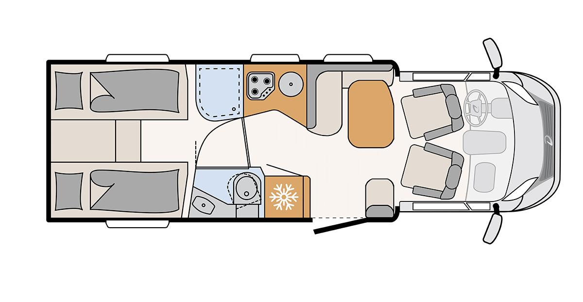 Comfort Standard indretning