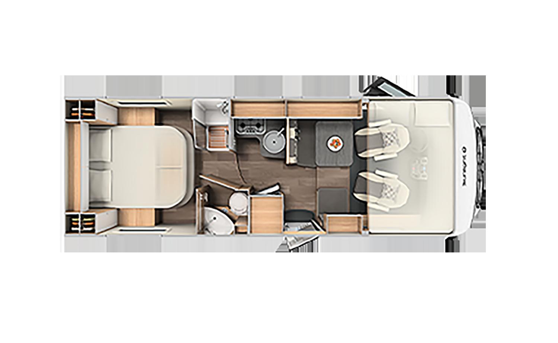 Comfort Luxury - Sunlight I 69 L indretning