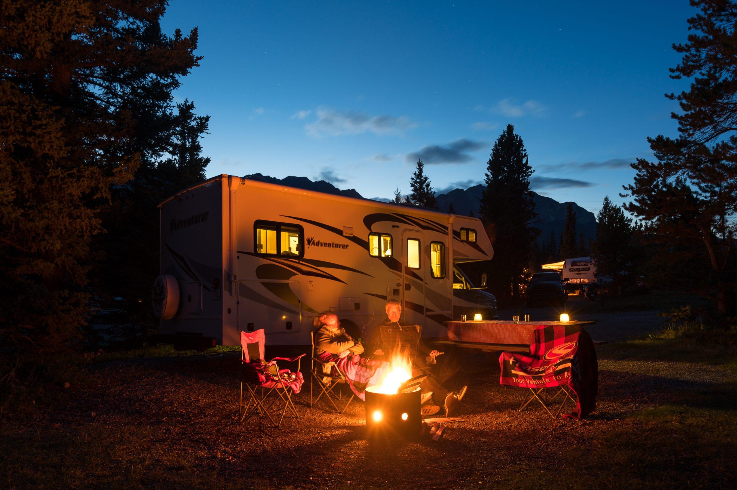 Fraserway camping