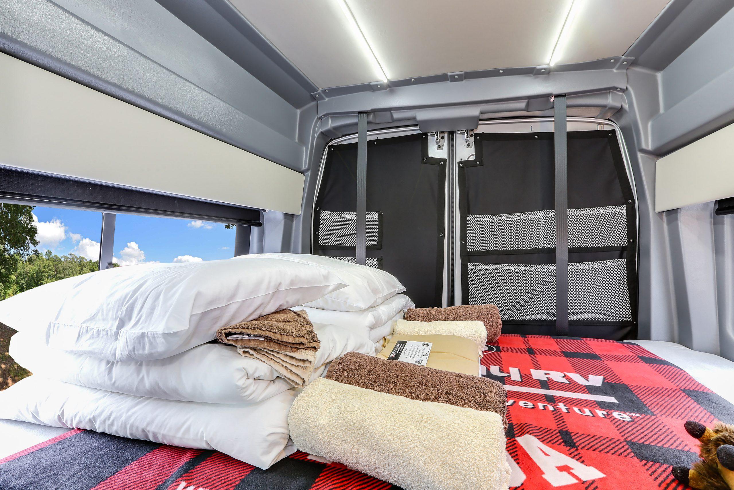 Fraserway Van Conversion seng