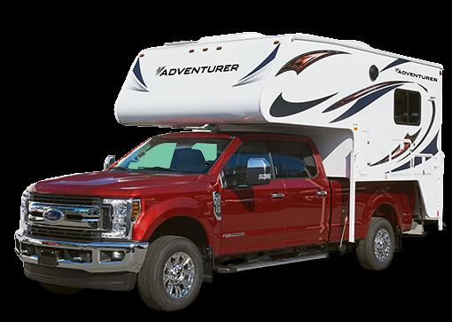 Fraserway Truck Camper udefra